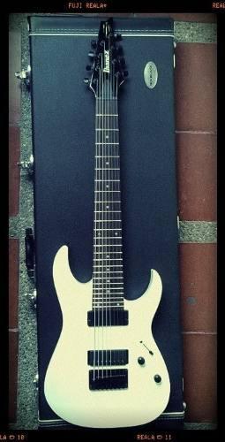 Guitarra electrica ibanez rg8 con duncan distorsión
