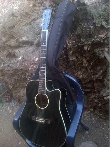Guitarra electroacustica fremaster k series