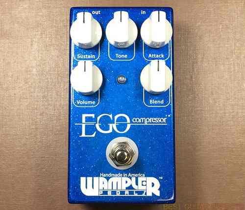 Pedal guitarra wampler ego compresor