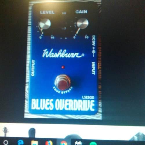 Pedal washburn blues overdriv para reparar