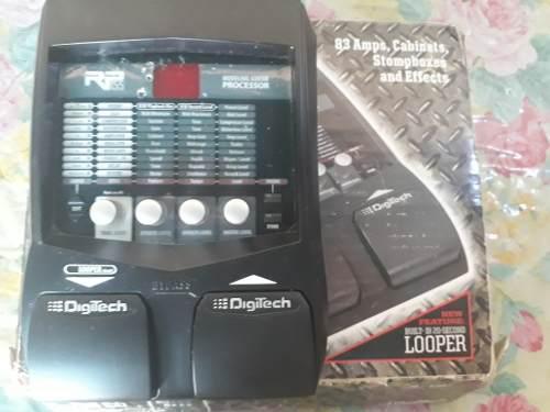 Pedalera de guitarra electrica digitech rp155