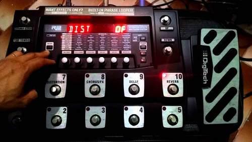 Pedalera multiefectos guitarra digitech rp1000