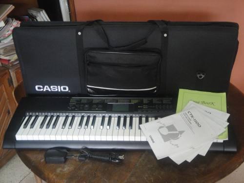 Teclado casio ctk 1100 de 5 octavas