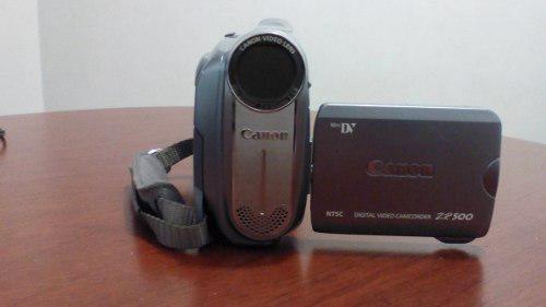 Camara filmadora canon zr 500