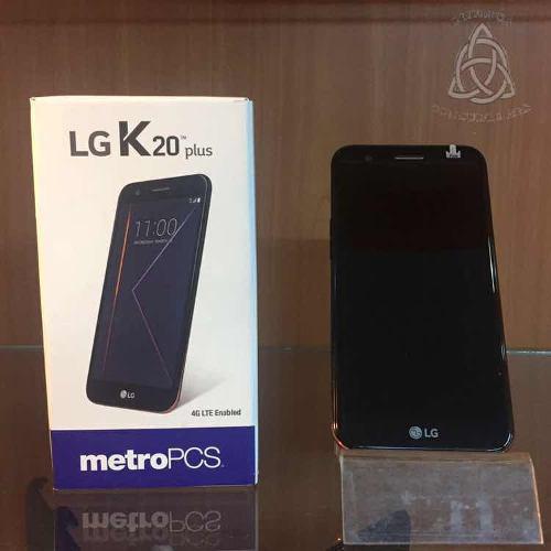Lg k20 plus nuevo. 3 meses garantía en 135 somos tienda !!