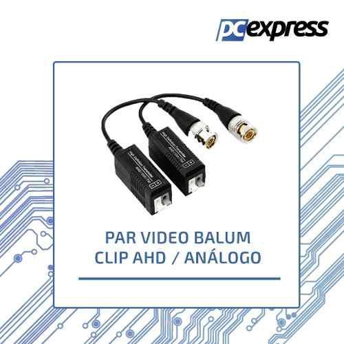 Par video balun clip hd / analogo