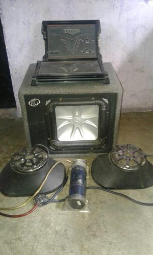 Combo de equipo de sonido para carro