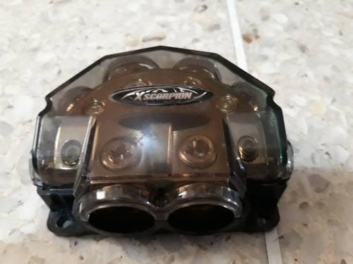 Distribuidor de corriente para equipo de sonido xscorpion