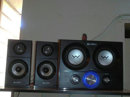 Equipo de sonido mp3 utech