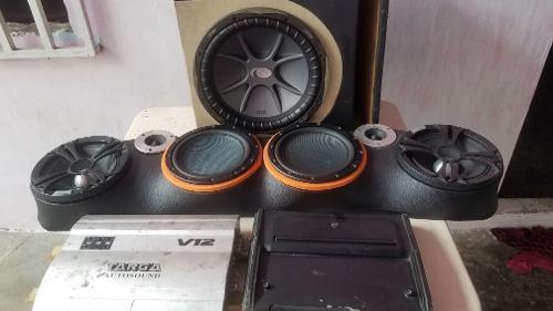 Equipo de sonido para carro o camioneta