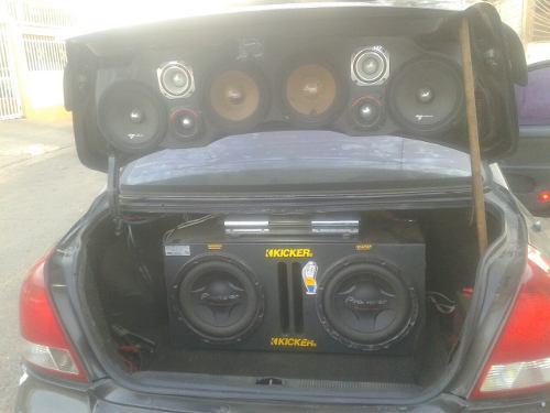 Equipo de sonido para vehiculo completo