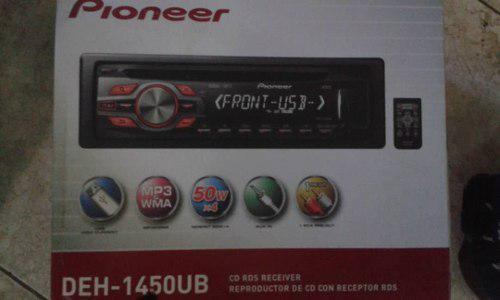 Equipo de sonido pioneer para carro