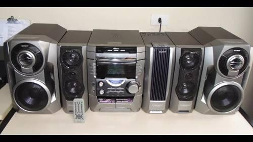 Equipo de sonido sony mhc-dx8