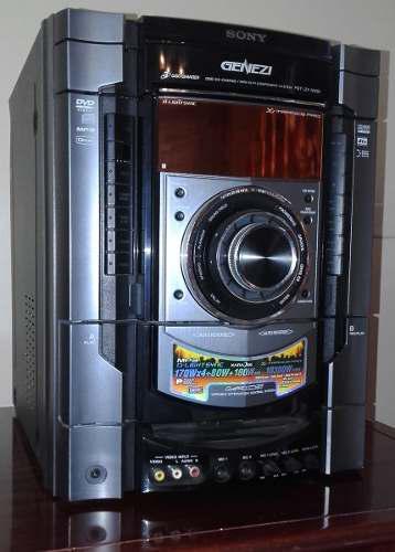 Equipo de sonido sony modelo fst-zx1000 usado en buen estado