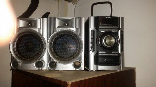 Equipo de sonido sony modelo hcd-ec55