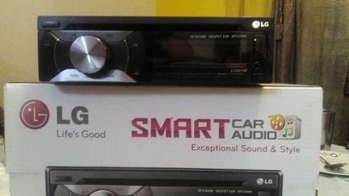 Equipo sonido carro, reproductor autos lg nuevo!! audio.