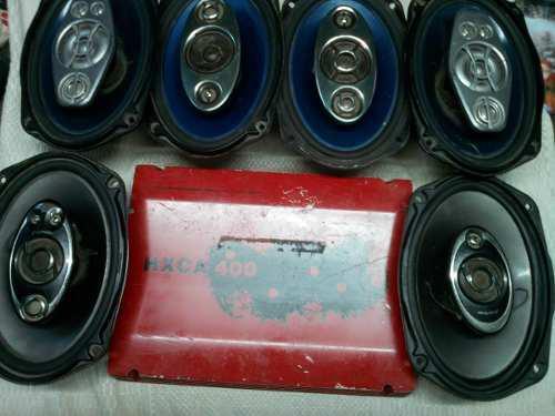 Equipo sonido para carro 6 cornetas planta 2800 w oferta