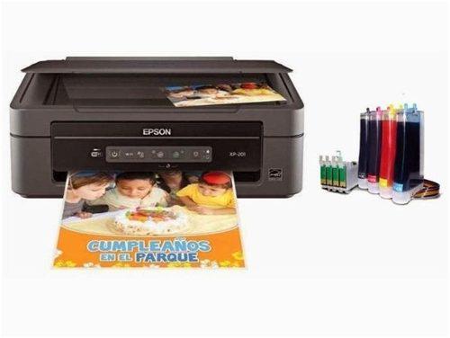 Impresora epson xp-201 sistema de tinta vegetal comestible