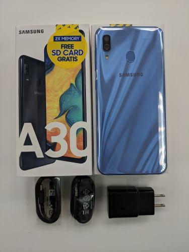 Samsung galaxy a30 / tienda fisica / garantia / liberado