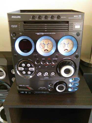 Equipo de sonido philips modelo fw m779