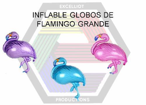 Inflables globos de flamingo grande al mayor