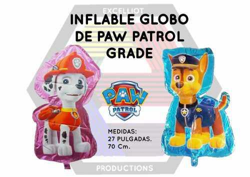 Inflables globos de paw patrol grande al mayor