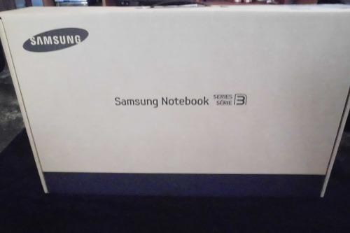 Laptop samsung serie 3 np300e4c nueva