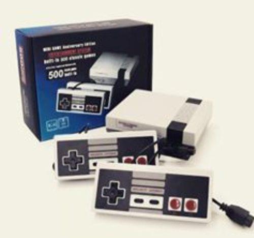 Mini consola nintendo edición aniversario, con 500 juegos