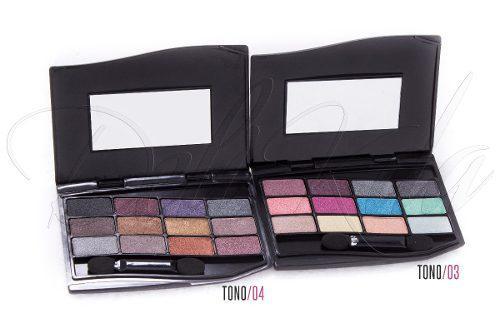 Sombras 12 colores shadow marca amuse!! fk9553mayor/detal