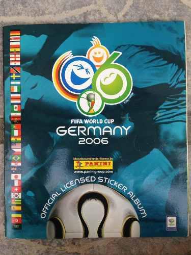 Album sólo faltan 4 barajitas alemania germany 2006 panini