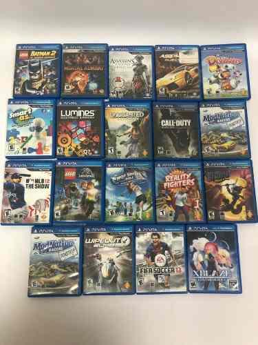 Juegos variados precio unitario playstation ps vita original