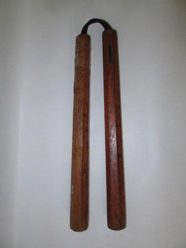 Nunchaku de madera
