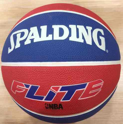 BALON BASKET SPALDING NBA FLITE Nº 7 GOMA AZU/ROJ SY CO13 segunda mano  San Antonio del Táchira (Táchira)
