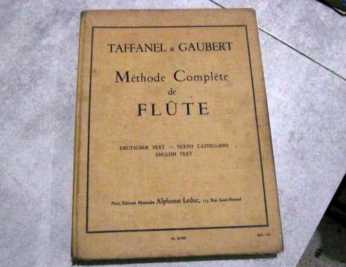 Metodo Completo De Flauta Taffanel & Gaubert