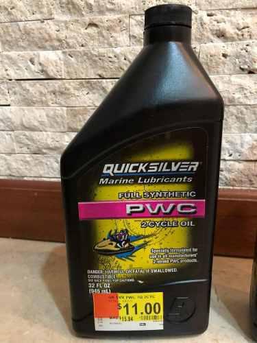 Aceite marino lancha moto agua 2 tiempo quiksilver