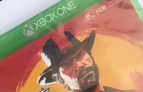 Juego xbox one. red dead r.nuevo original tienda física