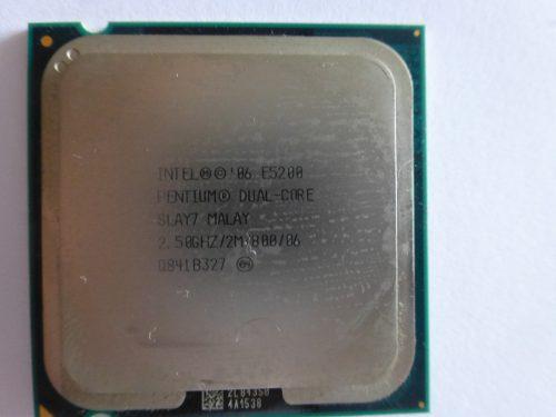 Procesador dual core intel e5200 2.5 ghz