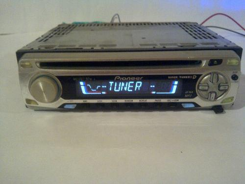 Reproductor pioneer 3700mp auxiliar y cd mp3 operativo