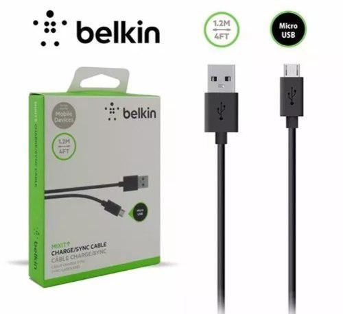 b292d4c0b Cable belkin micro usb samsung certificado 1.2mts