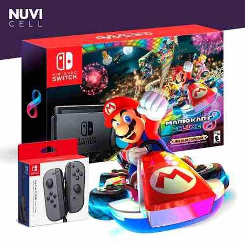 Nintendo switch + mario kart 8 tienda chacao