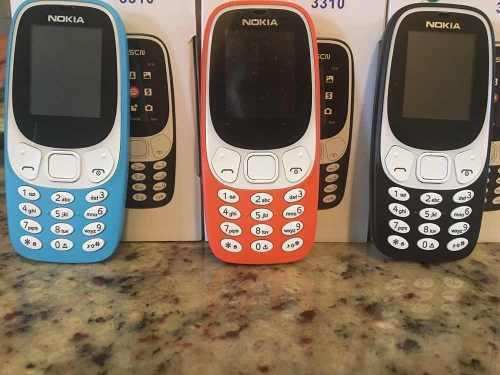 Teléfono nokia 3310, dual sim liberado. mayor/detal