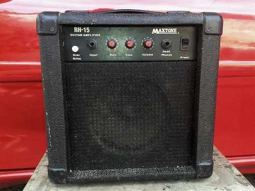 Amplificador maxtone 15watts para guitarra electrica
