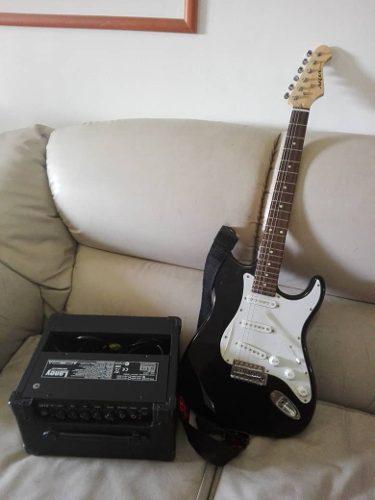Combo guitarra y amplificador