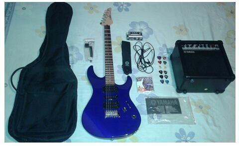 Guitarra eléctrica yamaha modelo erg121c (combo gigkmaker)