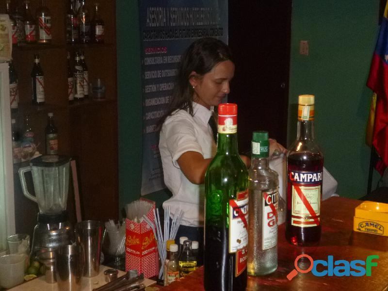 Curso de bartender en la isla de margarita