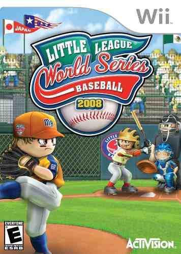 Juego little league worls series 2008 para wii, original