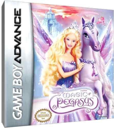 Juego original barbie and the magic pegasus gameboy advance