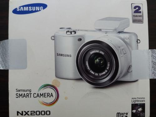 Camara samsung nx2000 20.3mp cmos smart wifi