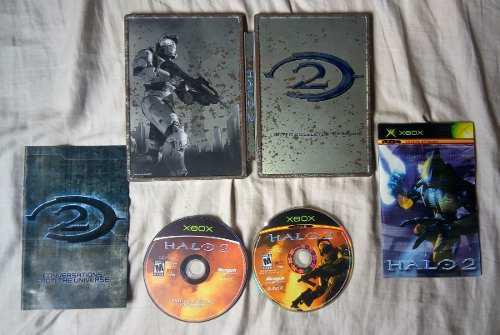 Halo 2 limited collector edition