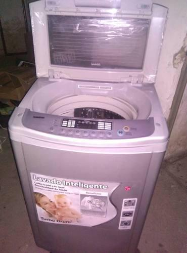Lavadora lg turbo drum 13 kilos